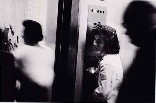 """Elevator. Miami Beach, 1955"" (""The Americans"")"