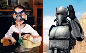 Jason Rowe y su avatar Ruroni Kenshin
