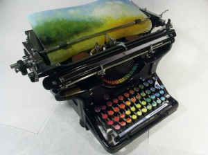 'The Chromatic Typewriter' - Tyree Callahan
