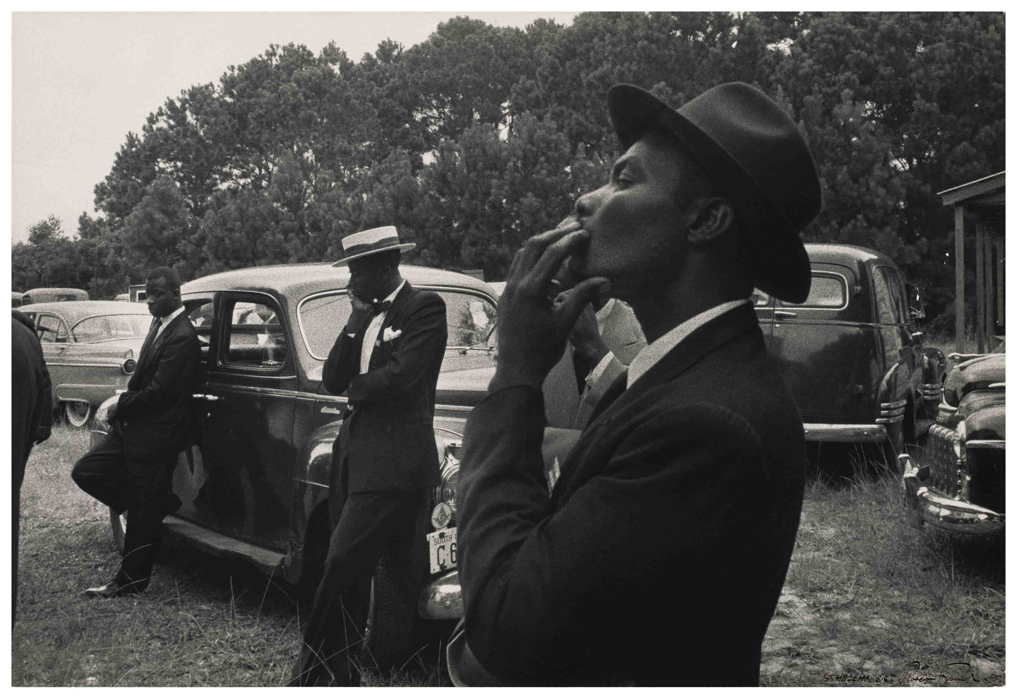 """Funeral. St. Helena, South Carolina, 1955"" (""The Americans"")"
