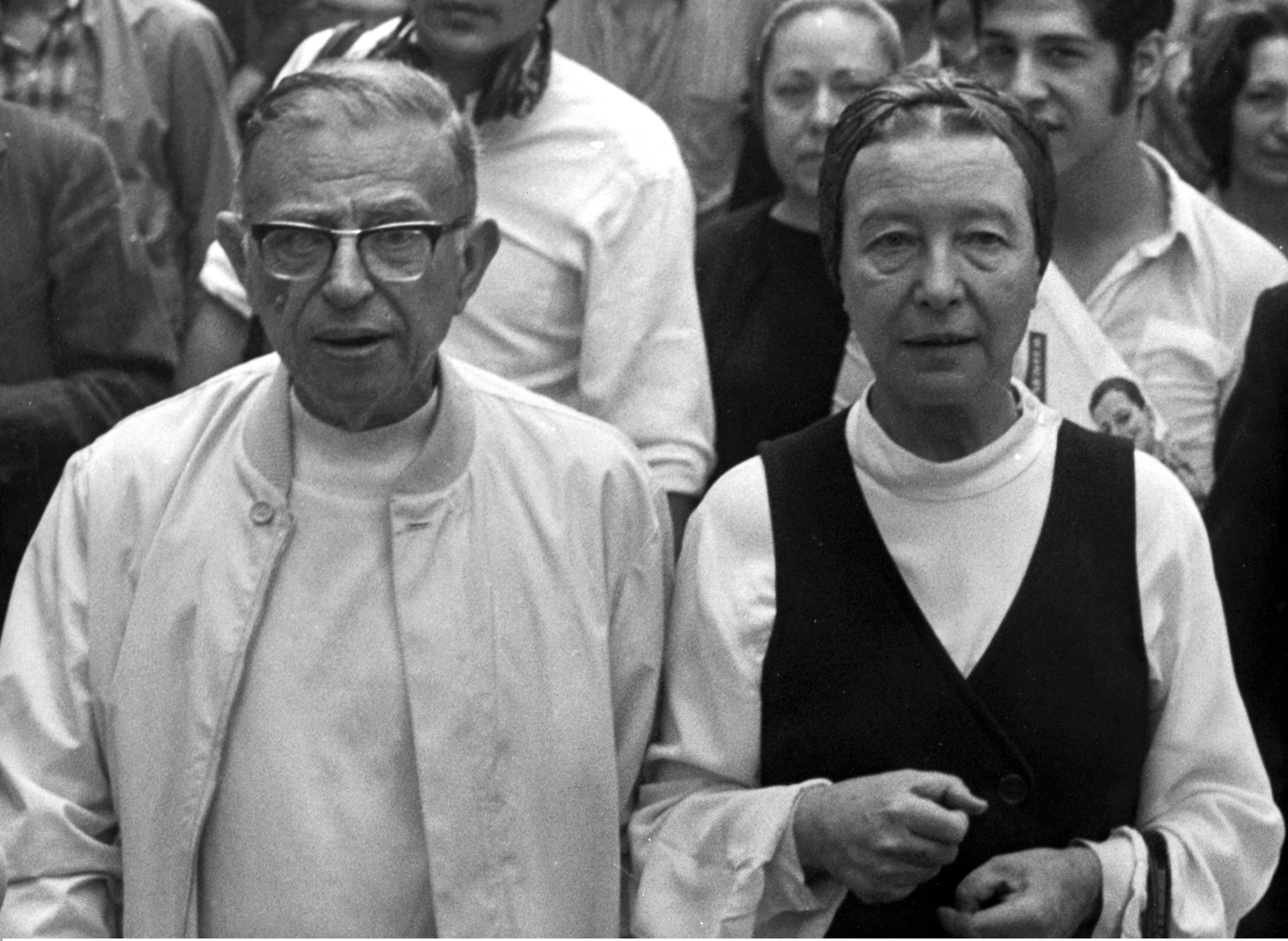 Sartre y De Beauvoir
