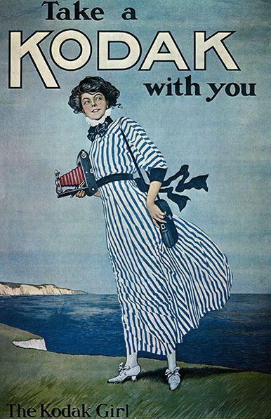 Anuncio de Kodak, 1900