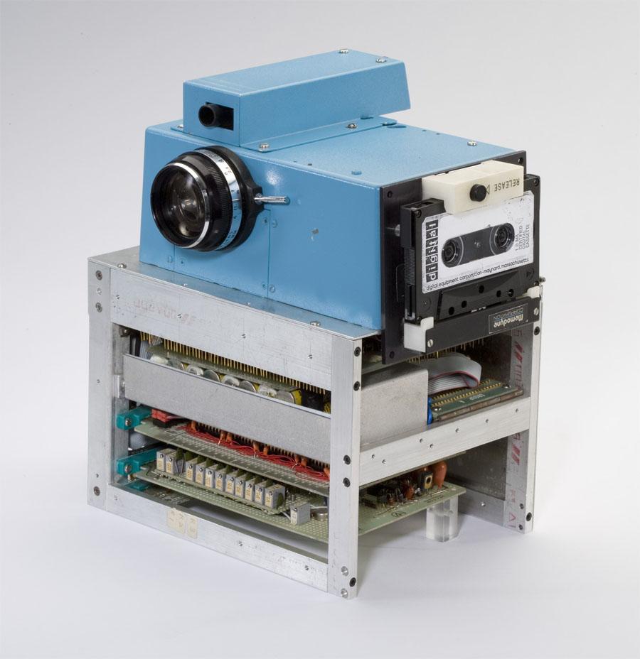 El prototipo de la primera cámara digital