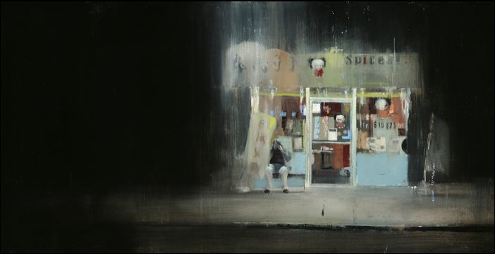 'Waiting  #81' - Brett Amory