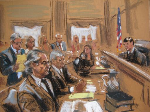 El juicio contra Bernard Madoff en junio de 2009 - Jane Rosenberg