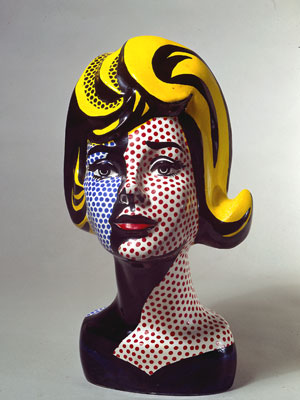 'Head with blue shadow' (1965)