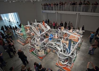 'Metropolis II' en el Lacma - © Chris Burden - © Museum Associates