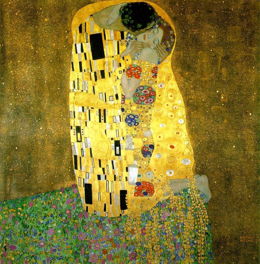 'El beso' (1908), la obra cumbre de la 'etapa dorada' de Klimt