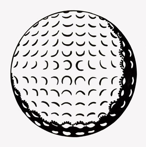 'Golf ball' (1962)