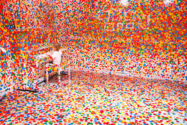 'The Obliteration Room', terminada