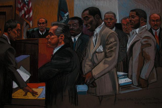 El rapero 'Puffy' Combs esperando el veredicto - Christine Cornell