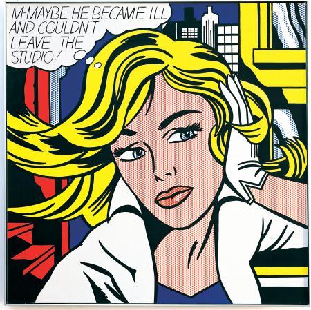 'M-maybe' (1963) - Roy Lichtenstein