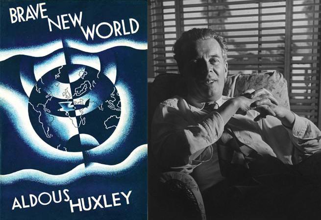 Aldous Huxley y 'Un mundo feliz'