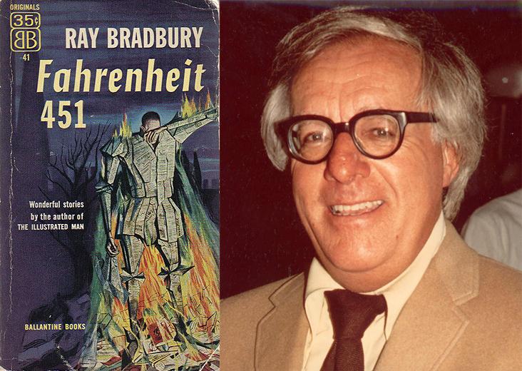 Ray Bradbury y 'Farenheit 451'