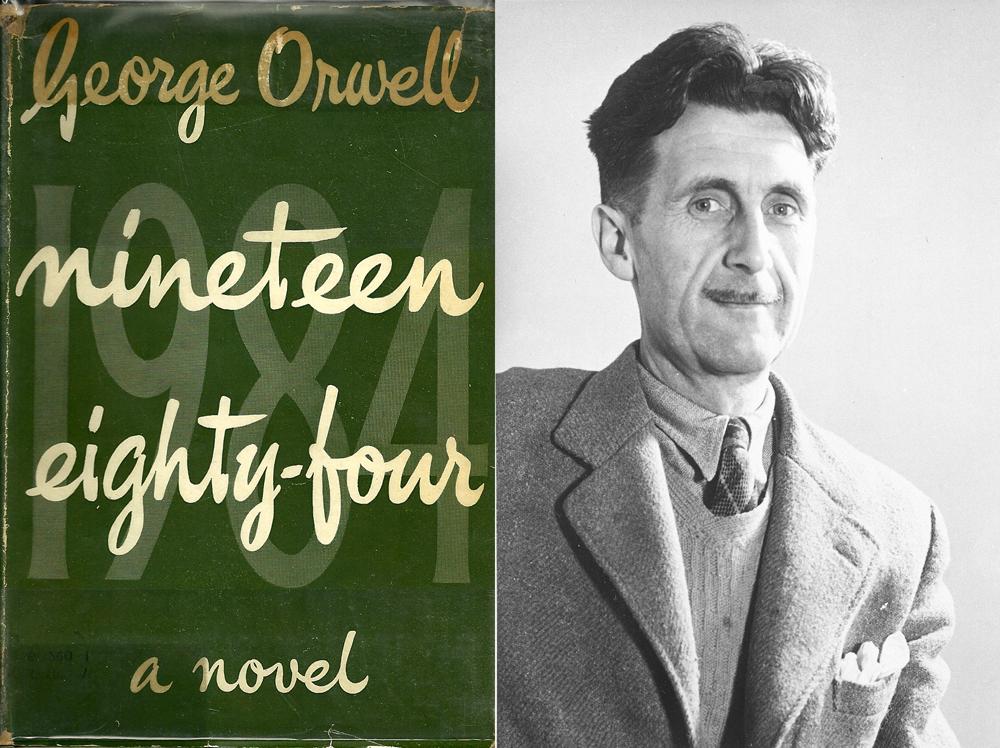 George Orwell y la primera edición de '1984'