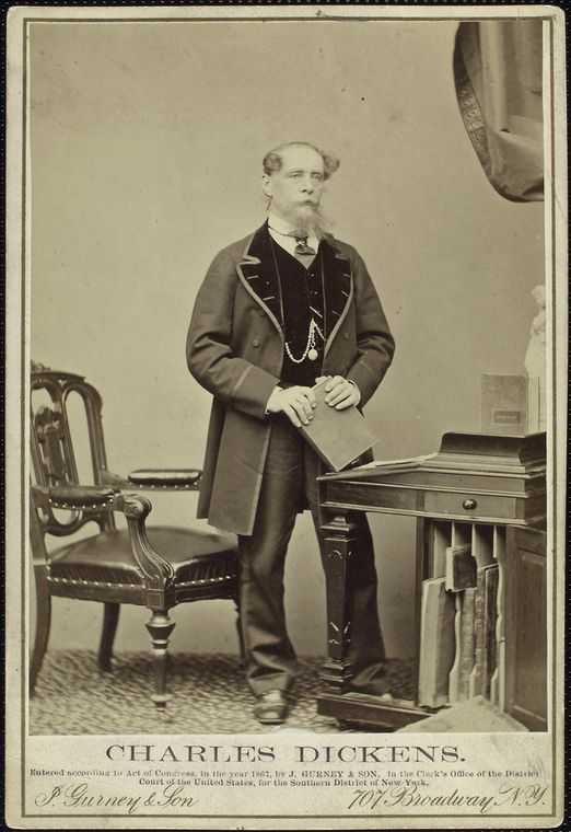 Charles Dickens, aprox. 1860