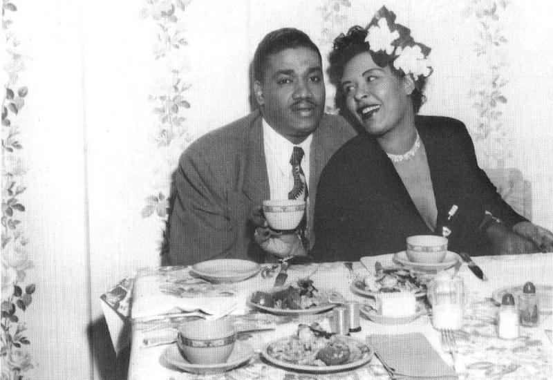 Con Louis MacKay, su último marido