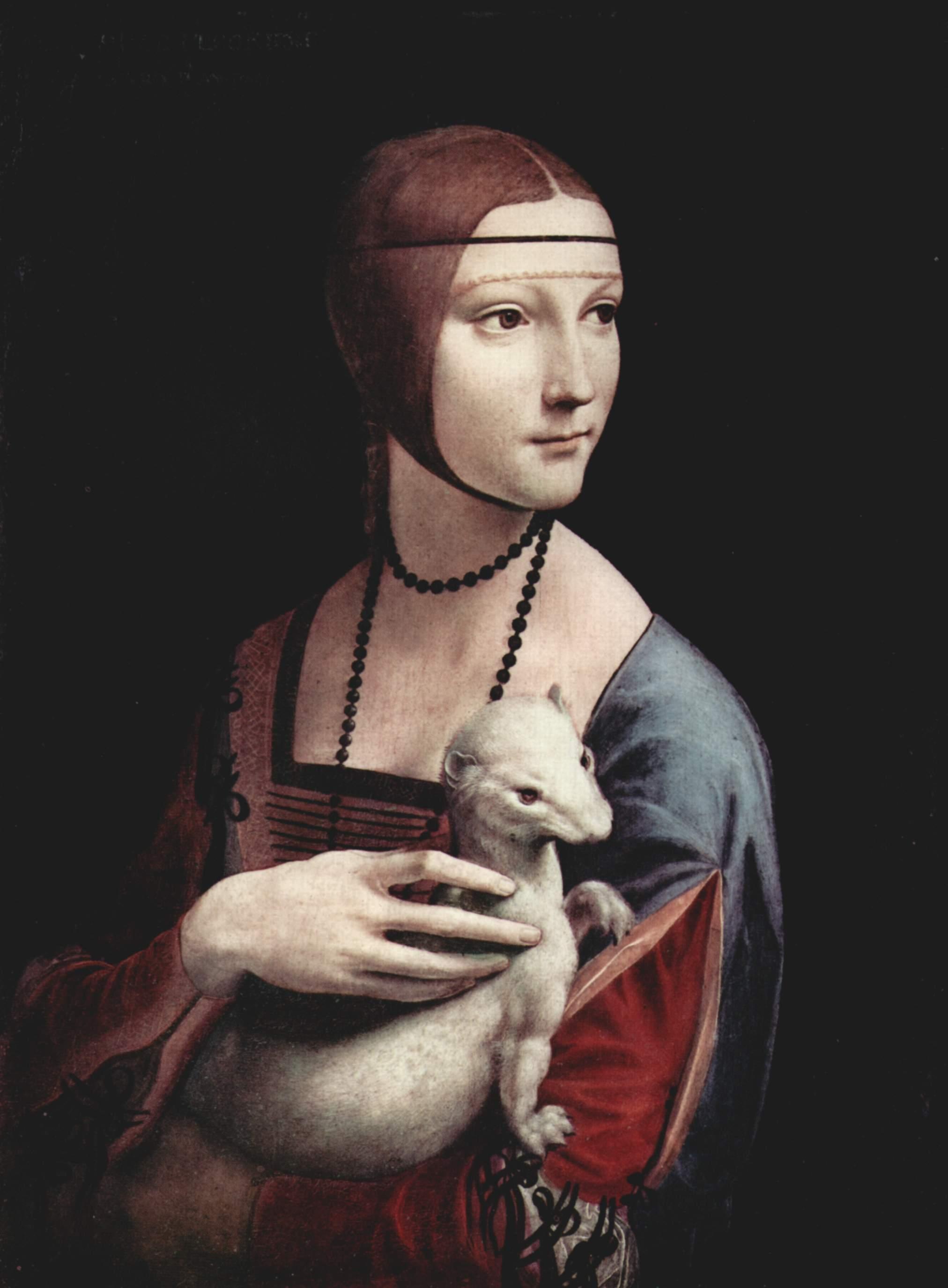 'La dama del armiño' (c.1485)