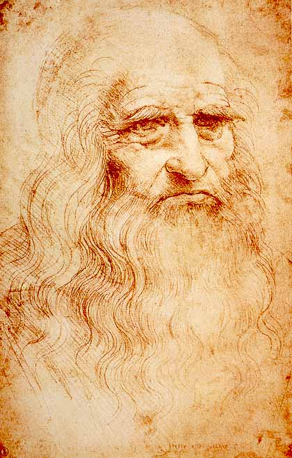 El único autorretrato de Leonardo (1512)
