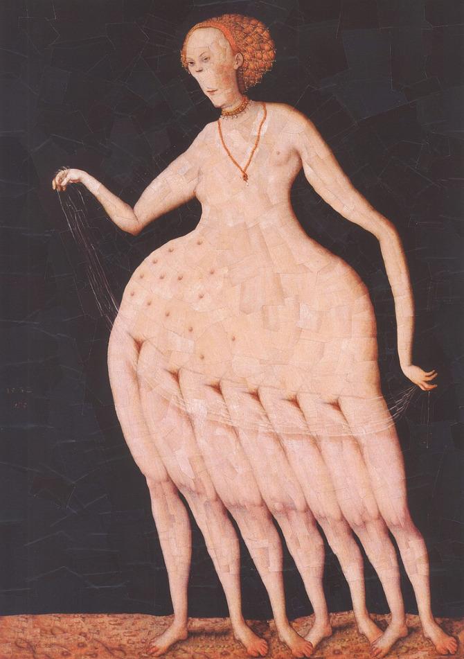 Dupré hace su versión de la 'Venus desnuda' de Lucas Cranach