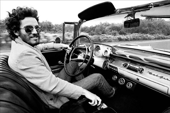 Bruce Springsteen en su Chevy Bel Air descapotable de 1957