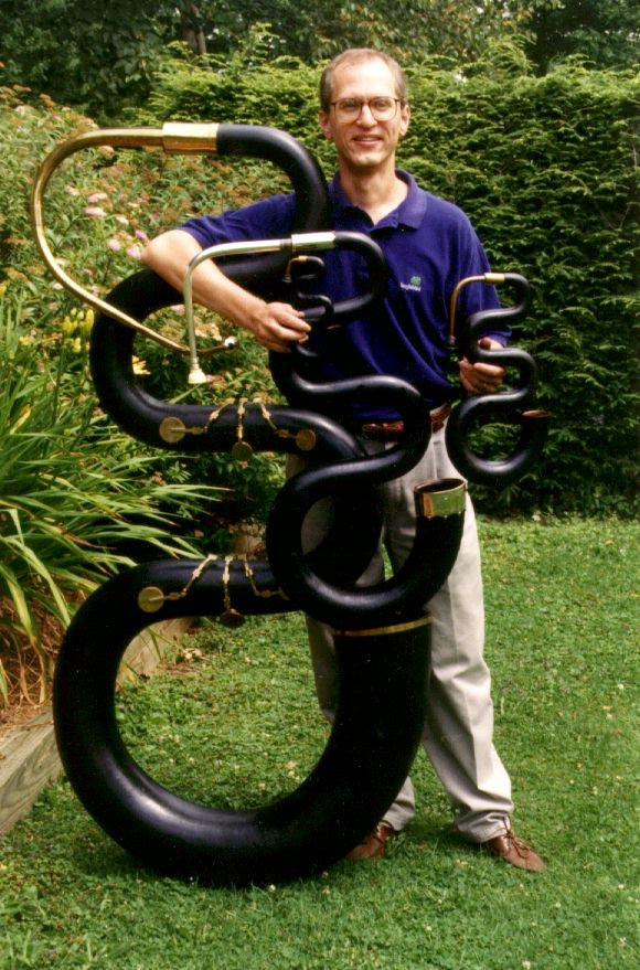 Douglas Yeo, uno de los mejores intérpretes de serpentón