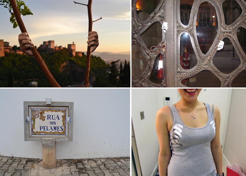 Fotos de Granada, Barcelona, Tavira (Portugal) y Londres