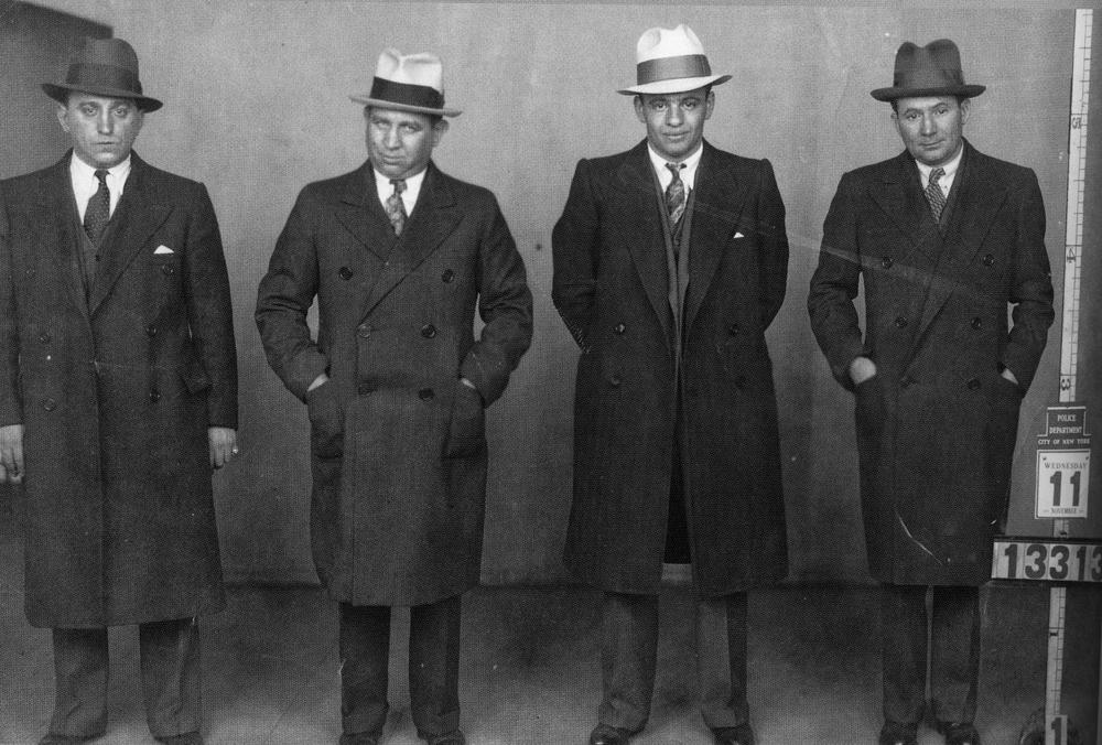 Presuntos mafiosos, 1940