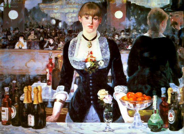 'Un bar aux Folies-Bergère' ('El bar del Folies-Bergère')