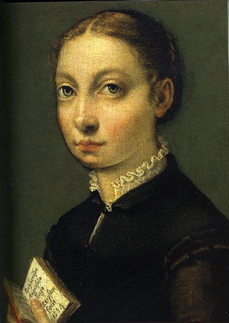 """Sofonisba Anguisola - """"Autorretrato"""", 1534"""