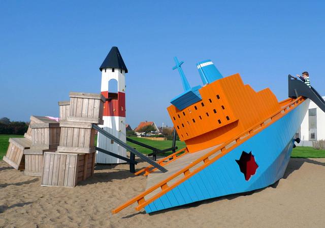El barco carguero de Höganäs