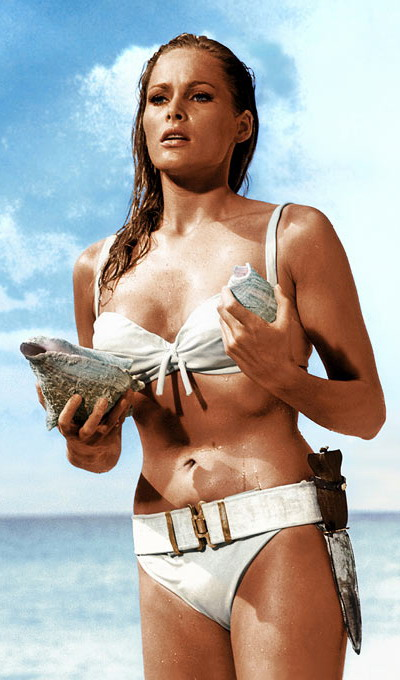 Honey Rider, la 'Chica Bond' interpretada por Ursula Andress