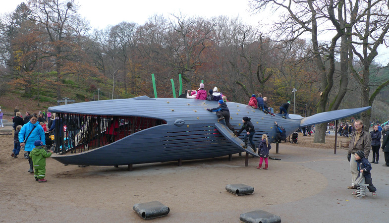 La ballena azul de Gotemburgo