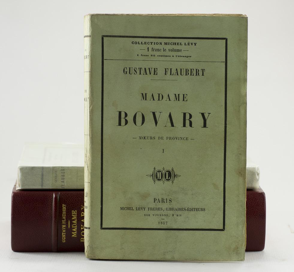 """Primera edición en libro de """"Madame Bovary"""" (1857)"""