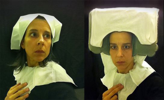 'Lavatory Self-Portraits in the Flemish Style'