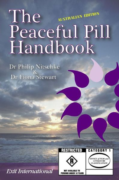 "Primera edición de ""The Peaceful Pill Handbook"" (2007)"