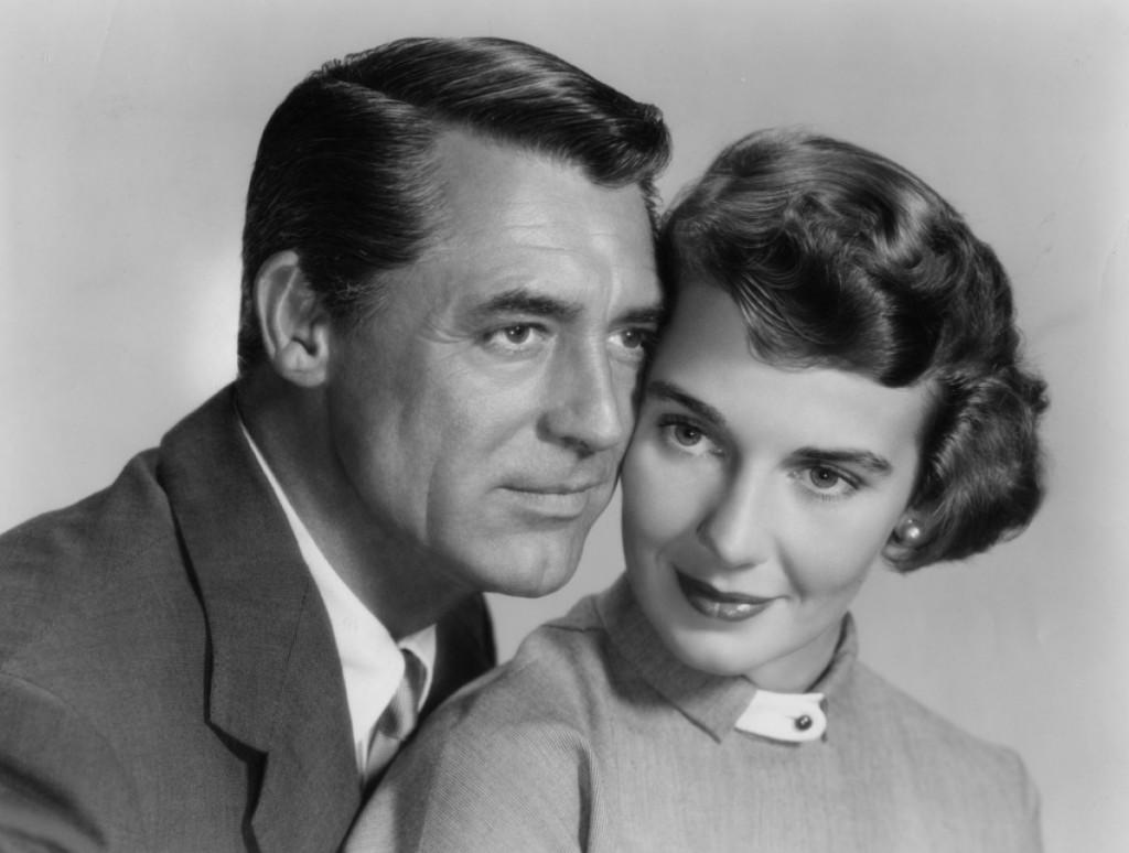 Grant y su tercera esposa, Betsy Drake