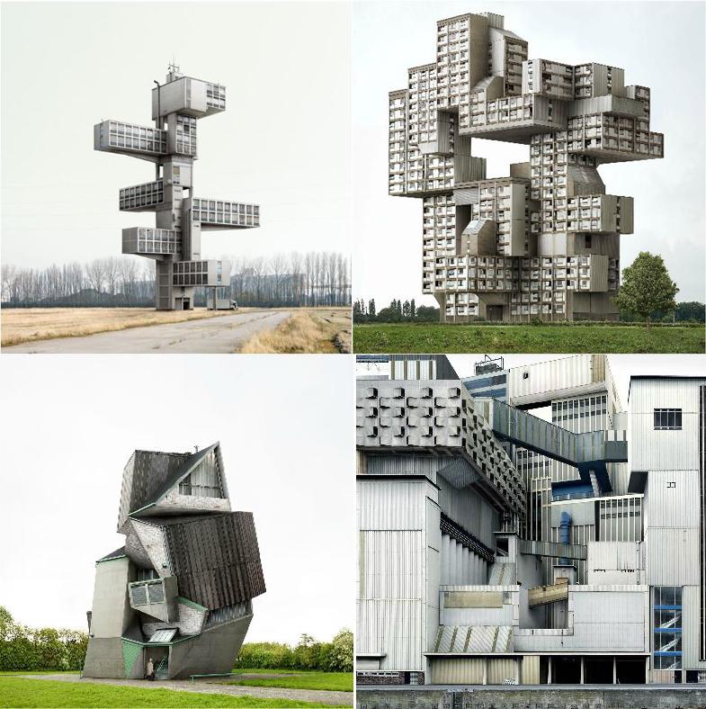 Los edificios imposibles de Filip Dujardin