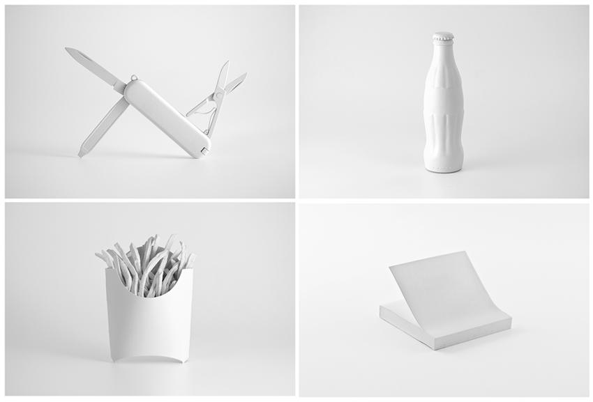 Cuatro de los objetos de 'Brand Spirit'