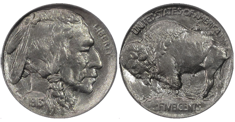 El 'Buffalo Nickel' original