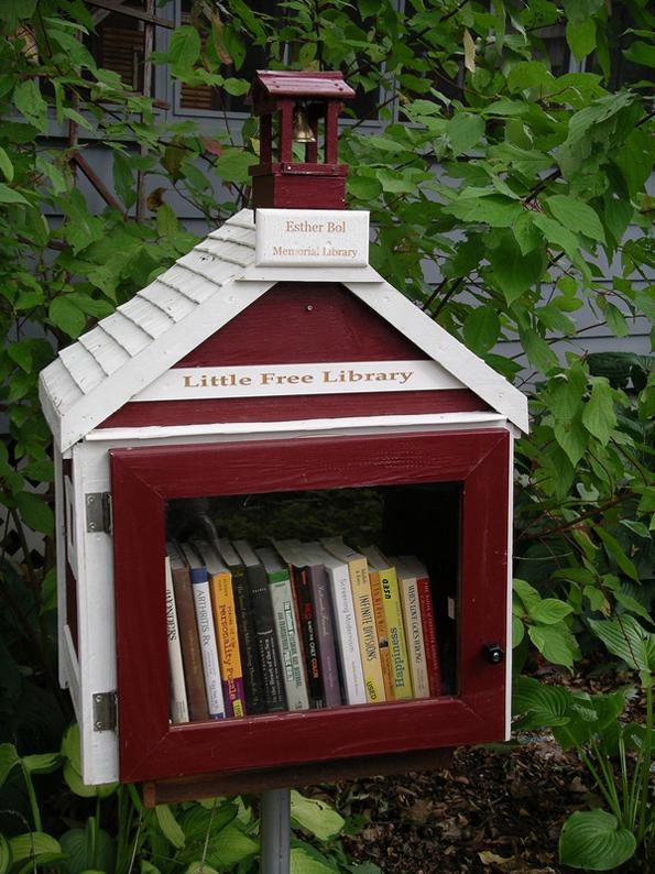 La primera 'pequeña biblioteca gratuita' que existió, en Wisconsin