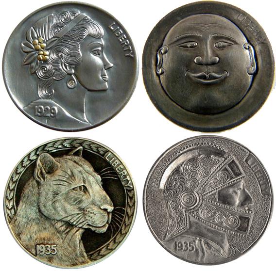Modificaciones nuevas sobre viejas monedas