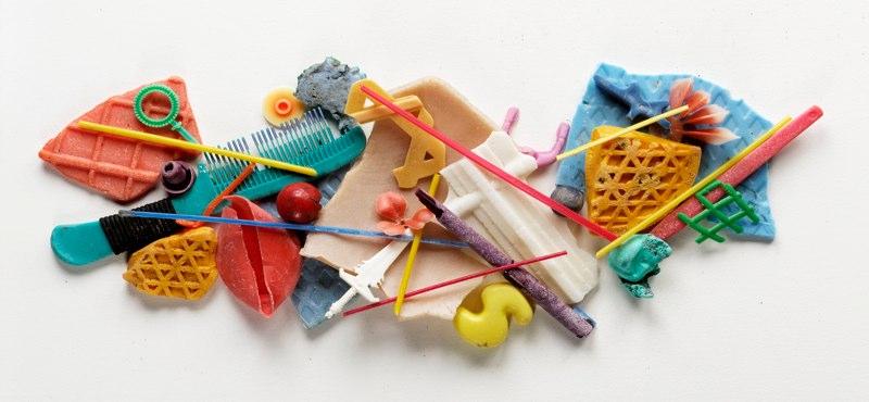 Una pequeña colección de residuos encontrados por los Lang