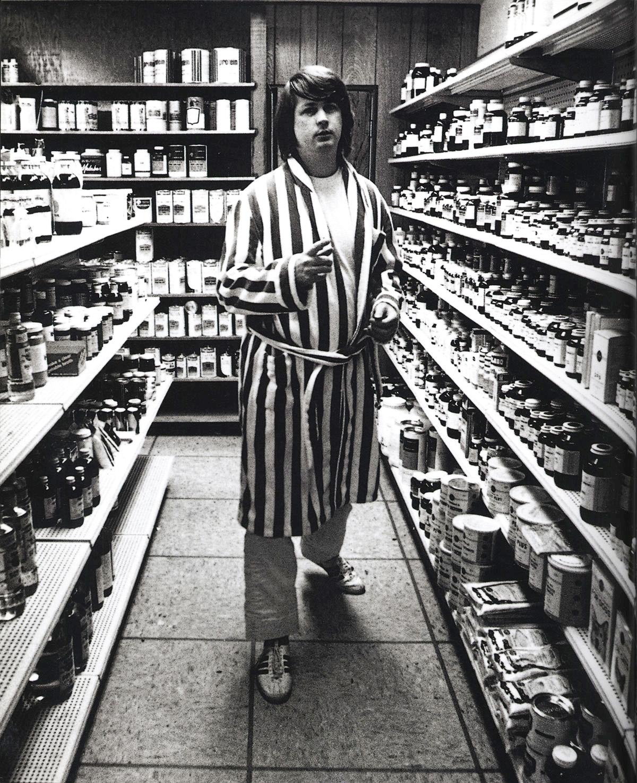 Brian Wilson en su tienda 'Rábano Radiante'