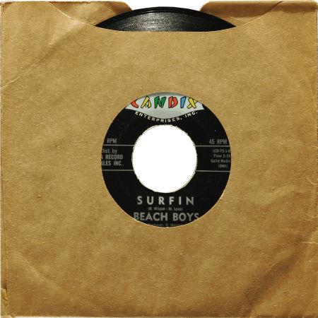 El primer 'single' (Candix Records, noviembre, 1961)