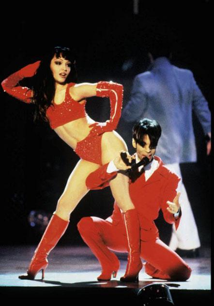 Prince y Mayte García