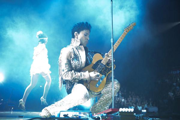 Prince en directo en Australia, el 11 de mayo de este año