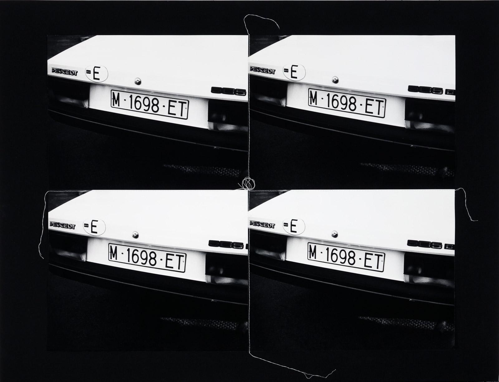 "Andy Warhol - ""European license plate"", 1986"