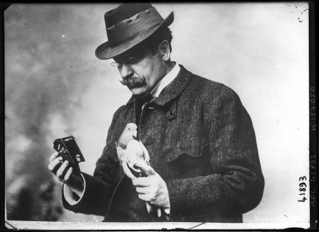 Julius Neubronner en 1914