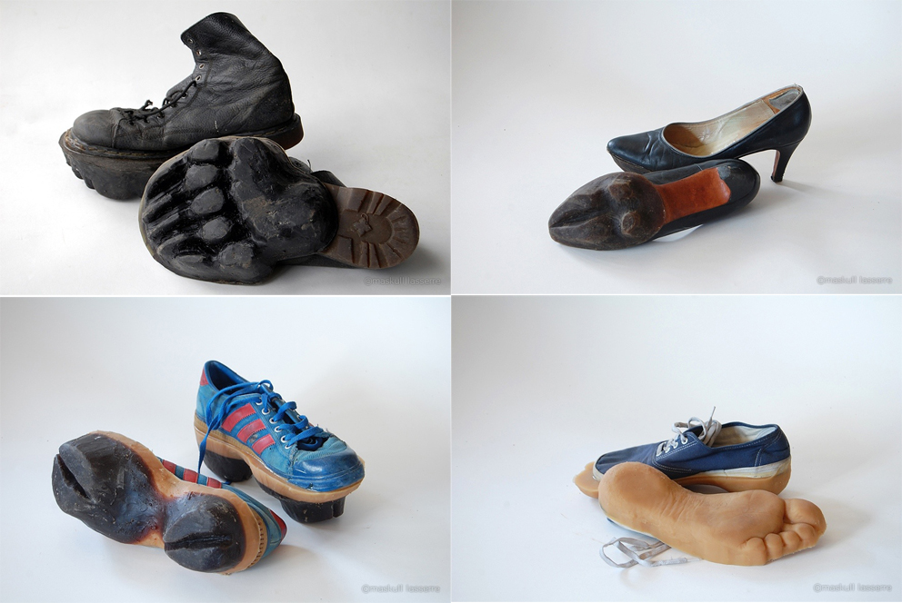 Los pares de zapatos de Maskull Lasserre